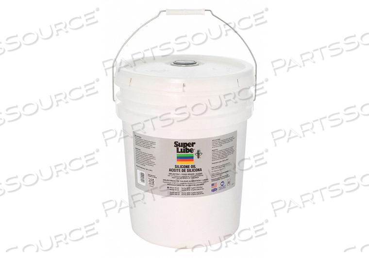 PURE SILICONE OIL 100CSTPAIL 5 GAL. by Super Lube