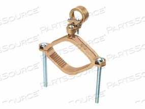 PANDUIT STRUCTURED GROUND MECHANICAL CONNECTORS BRONZE GROUND CLAMP FOR CONDUIT WITH GUILLOTINE - GROUNDING CLAMP by Panduit