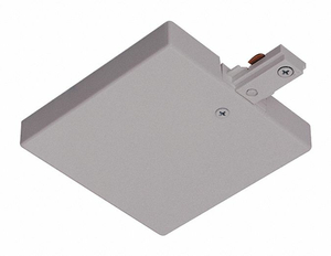 T-BAR END FEED SILVER by Juno Lighting Group