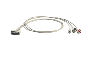 3 LEAD MULTI PIN ECG CABLE by Advantage Medical Cables, Inc (AMC)