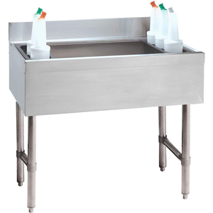 CHALLENGER COCKTAIL UNIT, 21X30X16, W/COLD PLATE, 220-LBS. ICE CAPACITY by Advance Tabco