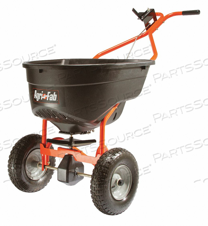 BROADCAST SPREADER 130 LB. PLOW HANDLE by Agri-Fab