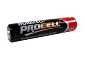 BATTERY, PROCELL, AAA, ALKALINE, 1.5V, 1100 MAH by R&D Batteries, Inc.