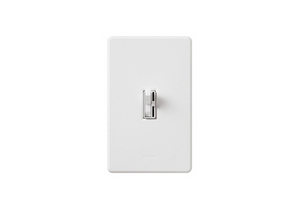 LIGHTING DIMMER 1-POLE TOGGLE WHITE by Lutron