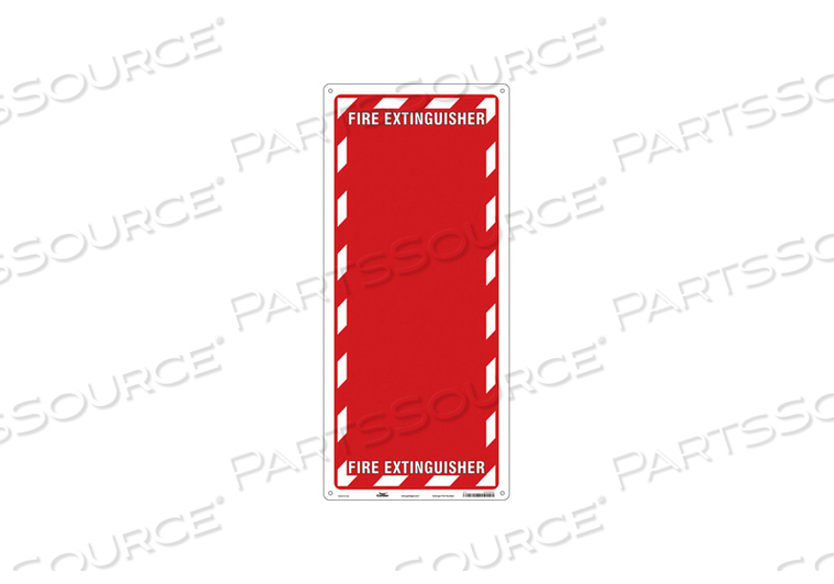 SAFETY SIGN 13 W 29 H 0.032 THICKNESS by Condor
