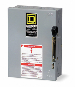 SAFETY SWITCH 240VAC 3PST 600 AMPS AC by Square D