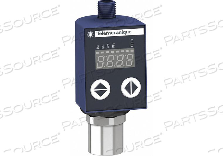 FLUID/AIR PRESSURE SENSOR 0 TO 145 PSI by Telemecanique Sensors