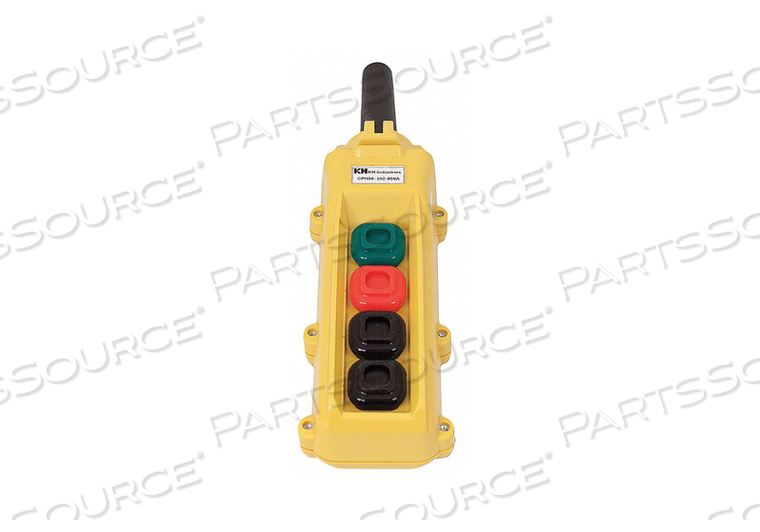 PENDANT STATION 4 PUSH BUTTON NO NC by KH Industries