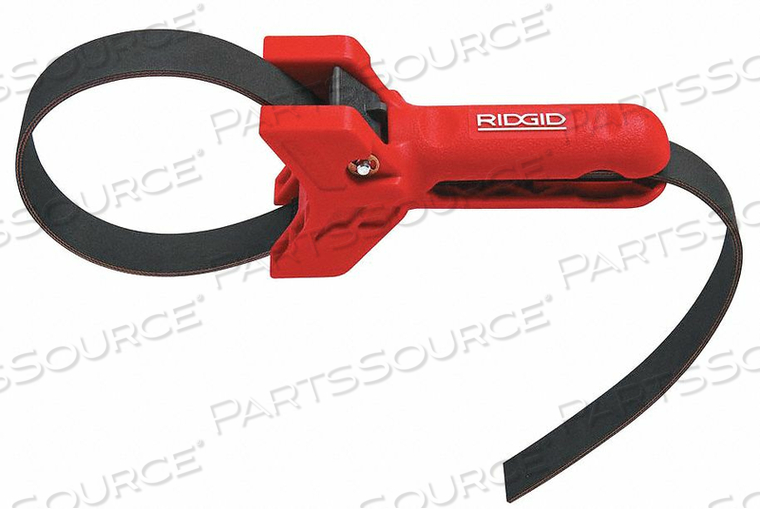 STRAP WRENCH 3 TO 8 PIPE CAP 5 HANDLE L by Ridgid