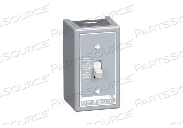 MANUAL MOTOR STARTER 30A 600VAC 3P by Square D