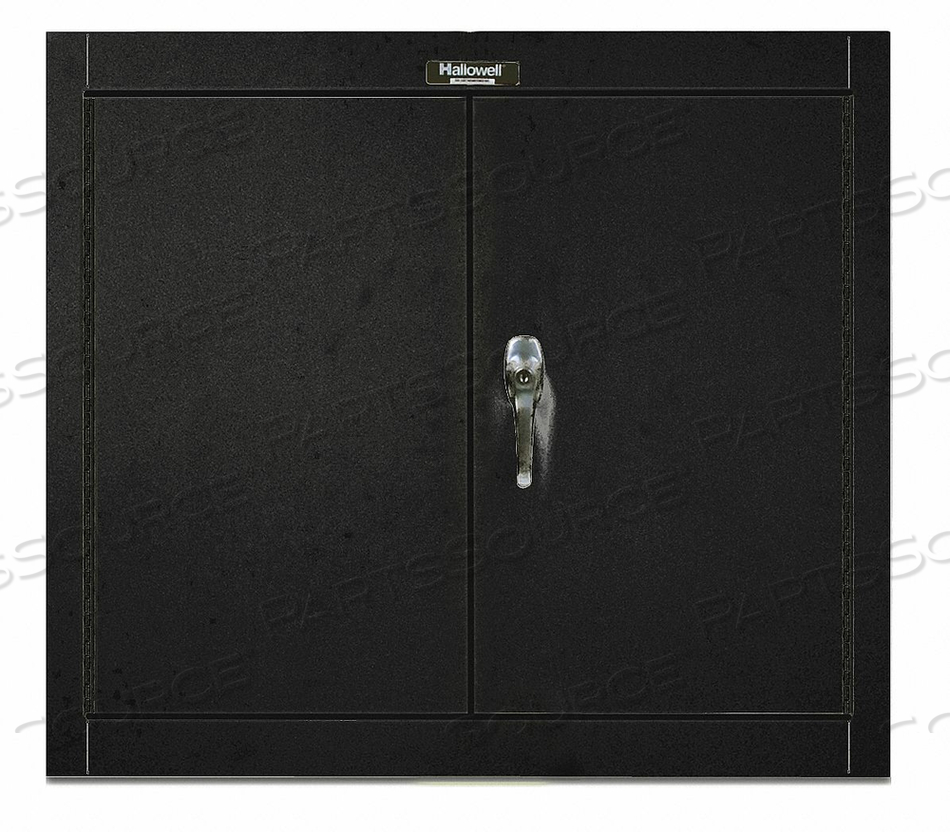G6777 WALL CABINET 30 H 36 W BLACK by Hallowell