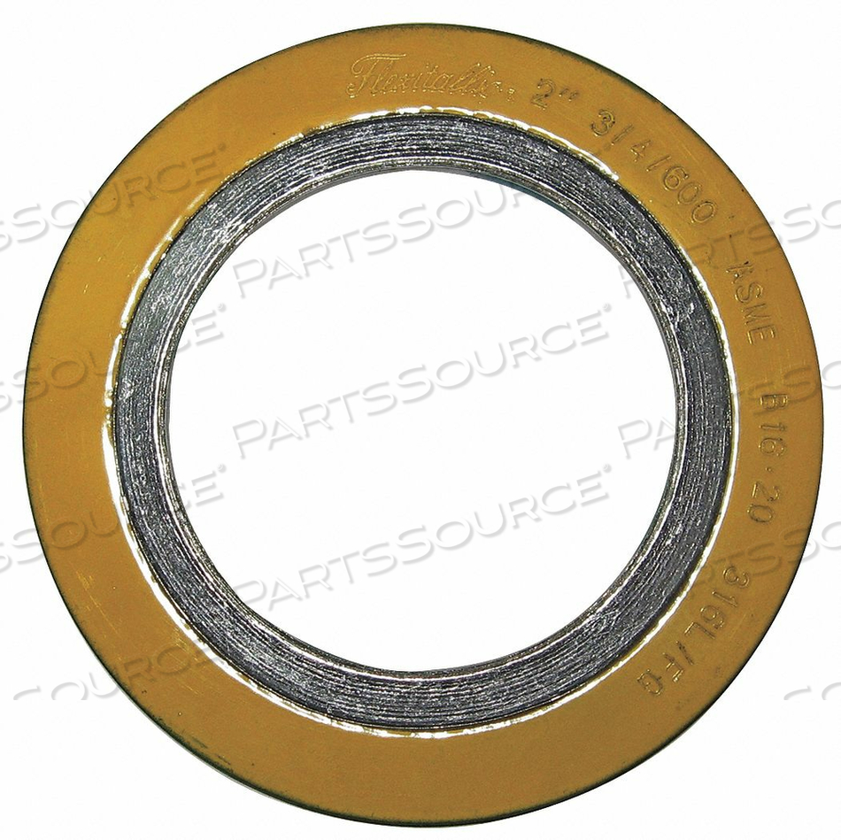 SPIRAL WOUND METAL GASKET 2 IN 316SS by Flexitallic