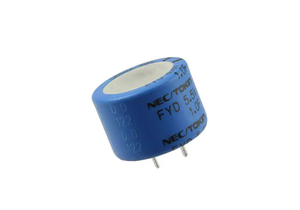 CAPACITOR, 1 F, 5.5 V, 0.846 IN DIA, THROUGH HOLE MOUNT, -25 TO 70 DEG C, 0.63 IN by Digi-Key