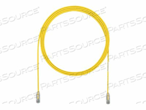 PANDUIT TX6 PLUS - PATCH CABLE - RJ-45 (M) TO RJ-45 (M) - 6.6 FT - UTP - CAT 6 - IEEE 802.3AT - STRANDED, SNAGLESS, HALOGEN-FREE, BOOTED - YELLOW by Panduit