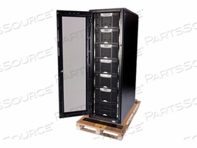 "EATON BLADEUPS PREASSEMBLED SYSTEM BOTTOM ENTRY 4 MODULES - S-SERIES RACK - POWER ARRAY - AC 208 V - 48 KW - ETHERNET 10/100, RS-232 - 42U - 19"" - BLACK - TAA COMPLIANT"