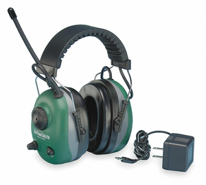 ELECTRONIC EAR MUFF 22DB OVER-THE-HEAD by Elvex