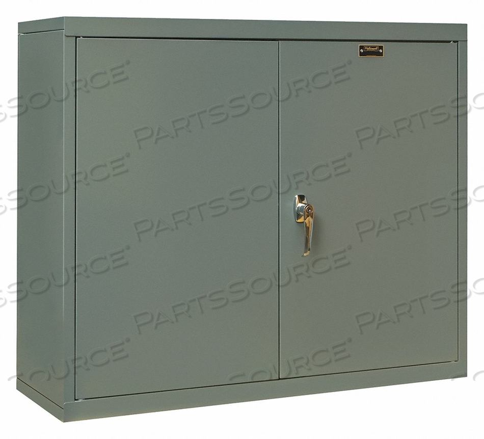 G6776 WALL CABINET 26 H 30 W GRAY by Hallowell