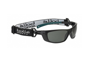 SAFETY GLASSES UNISEX GRAY LENS COLOR by Bolle Safety