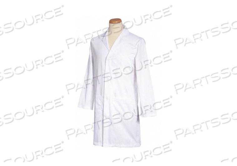 LAB COAT WHITE 39-3/4 L XL by Fashion Seal