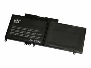 BTI DL-E5550 - NOTEBOOK BATTERY (EQUIVALENT TO: DELL 451-BBLN, DELL 8V5GX, DELL G5M10, DELL WYJC2, DELL 451-BBLK, DELL PF59Y) - 1 X LITHIUM POLYMER 2-CELL 5100 MAH 38 WH - FOR DELL LATITUDE 3550, E5250, E5450, E5550 by Battery Technology
