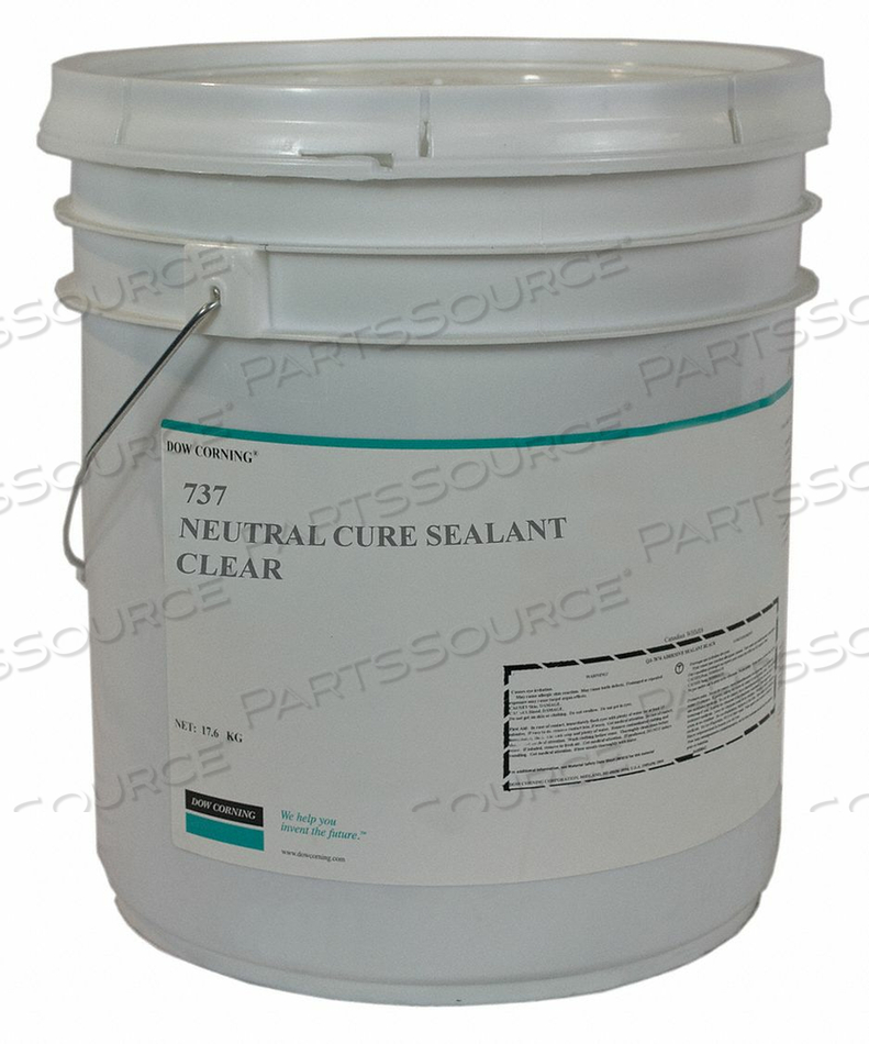 SEALANT SILICONE BASE CLEAR CARTRIDGE by Dow Corning