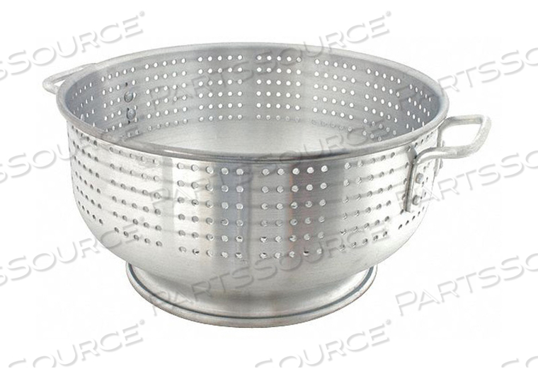 COLANDER 21 QT. 8 IN H ALUMINUM by Crestware