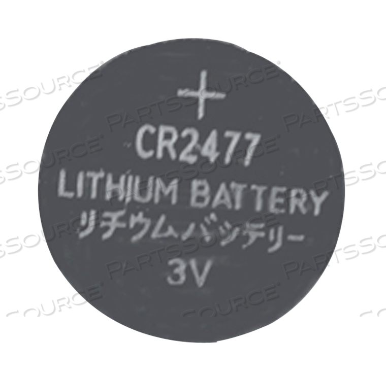 3 VOLT LITHIUM COIN BATTERY by R&D Batteries, Inc.