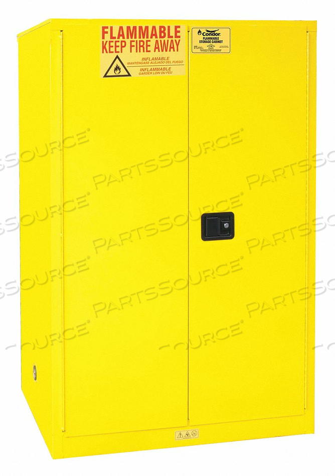FLAMMABLE LIQUID SAFETY CABINET 65INH by Condor
