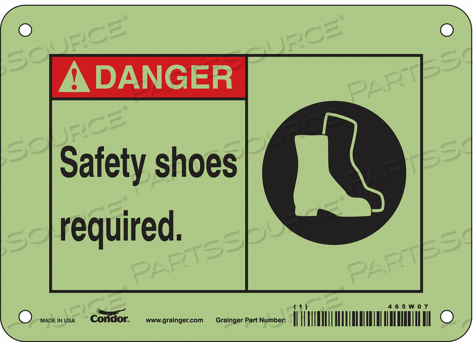 SAFETY SIGN PERSONAL PROTECTION 5 H by Condor