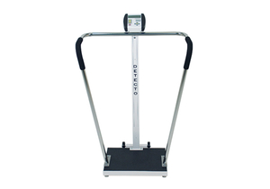 DIGITAL BARIATRIC SCALE, 600 LB X 0.2 LB, 0.75 IN LCD by Detecto Scale / Cardinal Scale