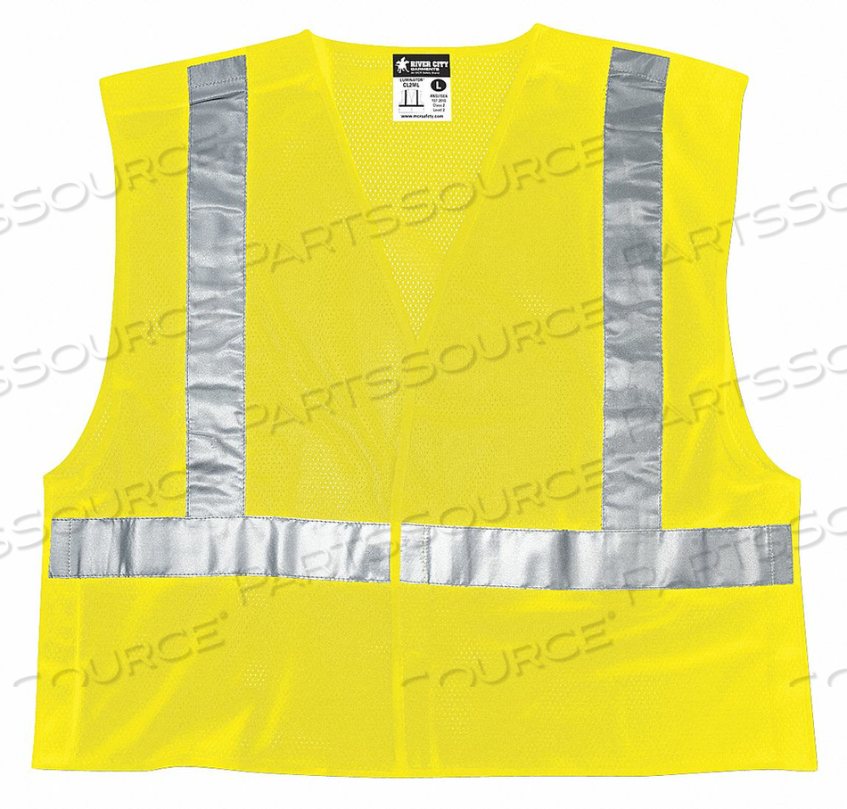 TEAR AWAY SAFETY VEST L by MCR Safety