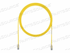 PANDUIT TX6 - PATCH CABLE - RJ-45 (M) TO RJ-45 (M) - 6 IN - UTP - CAT 6 - STRANDED, SNAGLESS, HALOGEN-FREE, BOOTED - YELLOW by Panduit