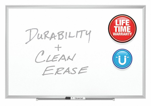 DRY ERASE BOARD WALL MOUNTED 36 X48 by Quartet