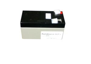 BATTERY, SEALED LEAD ACID, 12V, 1.2 AH, FASTON (F1) by Parks Medical Electronics