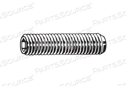 SOCKET SET SCREW PLAIN PK25000 by Fabory