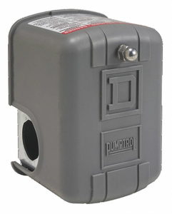 PRESSURE SWITCH STNDRD 135/175 PSI DPST by Square D