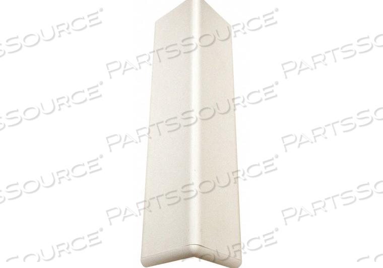 CORNER GUARD ALUMINUM/VINYL LINEN WHITE by Pawling Corp