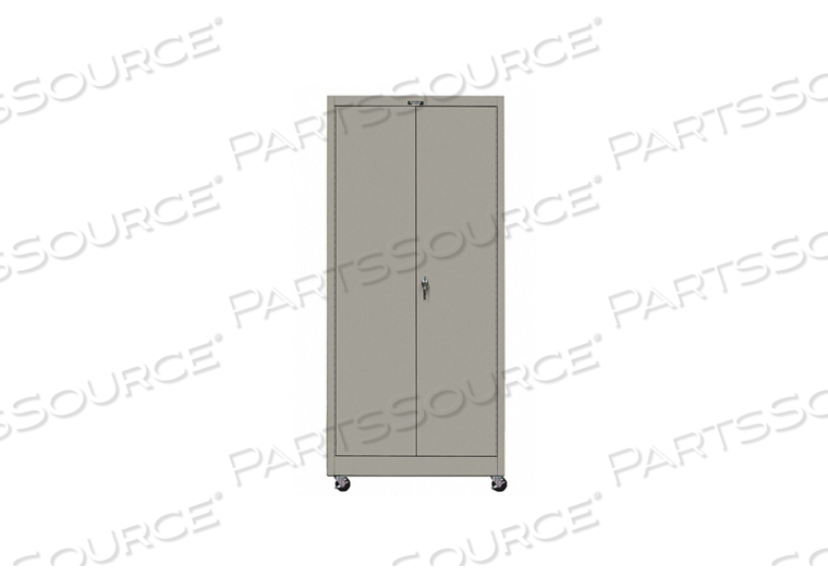 G6767 SHELVING CABINET 72 H 36 W GRAY by Hallowell