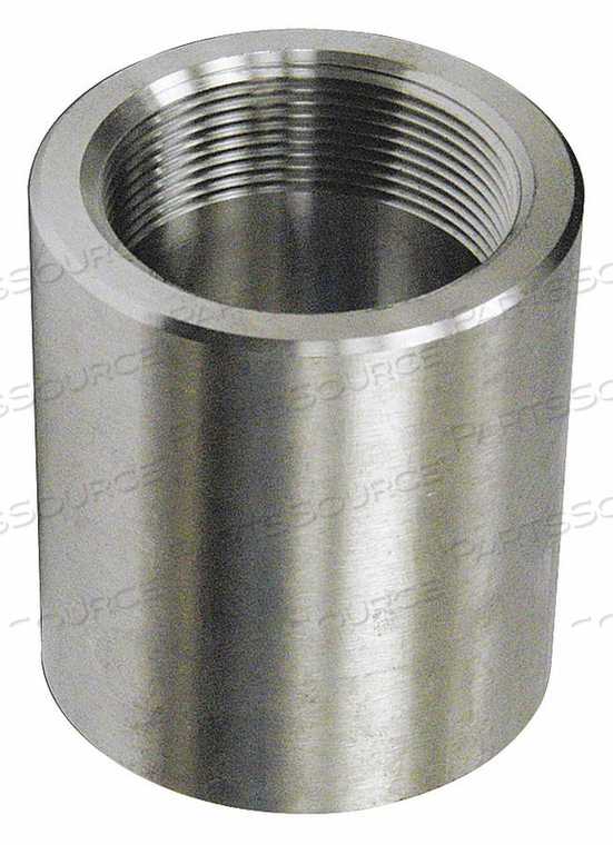 COUPLING STAINLESS STEEL FNPT 2IN. by Penn Machine Works