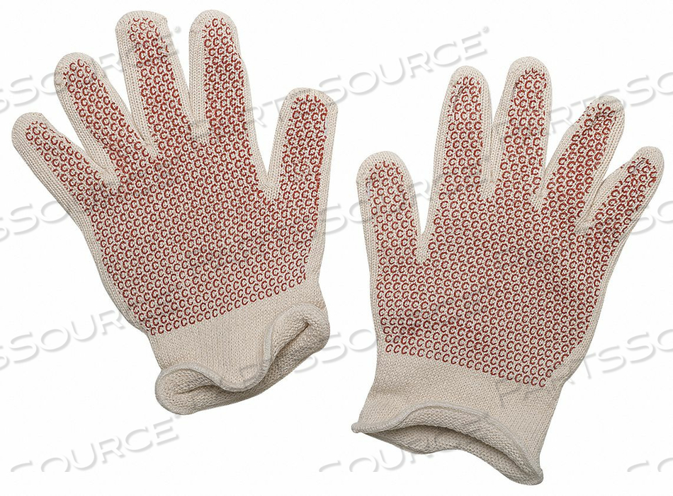 KNIT GLOVES L RED/WHITE PR by Condor