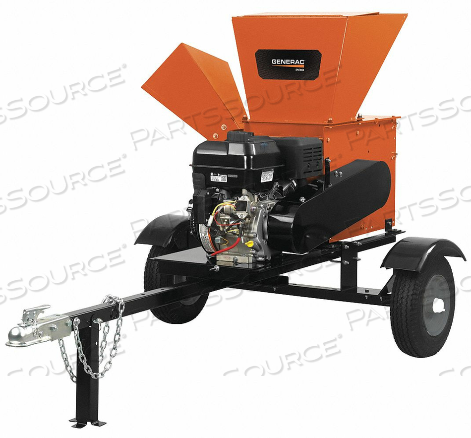GAS POWERED CHIPPER 1.7 GAL FUEL TANK by Generac