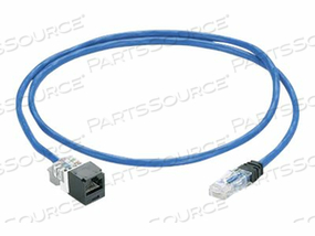 PANDUIT PANZONE - PATCH CABLE - RJ-45 (F) TO RJ-45 (M) - 20 FT - UTP - CAT 6 - IEEE 802.3AF/IEEE 802.3AT/IEEE 802.3BT - BOOTED, PLENUM, SNAGLESS, SOLID - BLUE