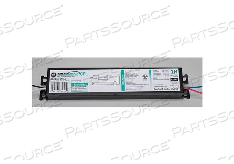 CFL BALLAST ELECTRONIC 40W 120/277V by GE Lighting