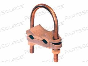 PANDUIT TYPE GU - GROUNDING CLAMP (QTY PER PACK: 10) by Panduit