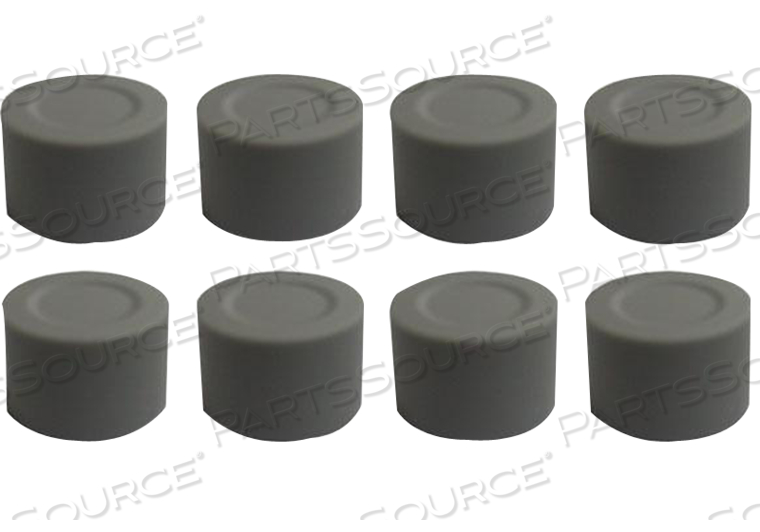 SET 8 CAPS ROTARY POTENTIOMETER GEU INCLUDING BRACKETS