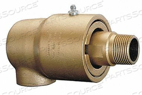 ROTARY UNION 1-1/4 IN NPT 9000S LH DUAL by Duff-Norton