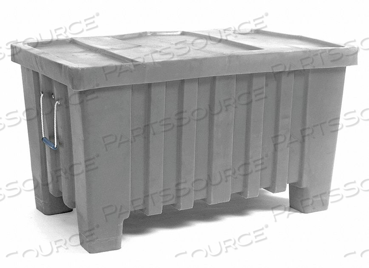 CONTAINER 8.7 CU.-FT. 550 LBS. GRAY by Myton Industries