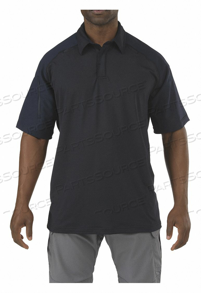 RAPID PERFORMANCE POLO DARK NAVY 2XL by 5.11 Tactical