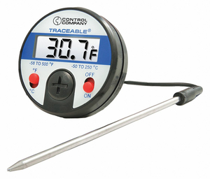 THERMISTOR THRMOM -58 TO 500F DIGITAL by Traceable