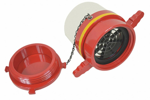 DRY HYDRANT STRAIGHT ADAPTER 5 IN FEMALE by Moon American